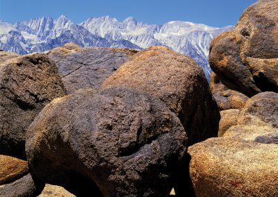 Granite Boulders, Mount Whitney, Sierra Nevada, California
