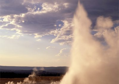 Clepsydra Geyser, Yellowstone Volcanic Caldera, Wyoming