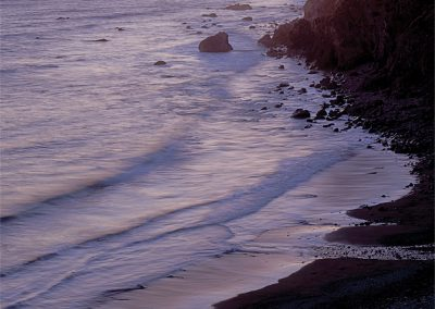 Twilight, Northern Pacific Coast Range, Crescent City, California