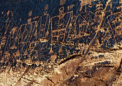 Ancient Ones Petroglyphs, San Juan River Basin, Utah
