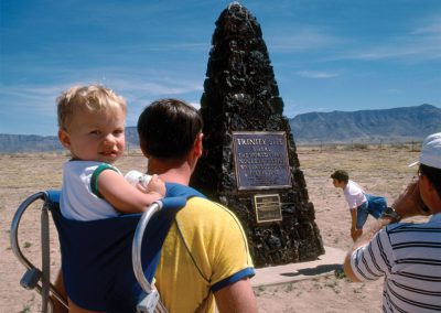 Radiation Baby, Ground Zero, White Sands, New Mexico