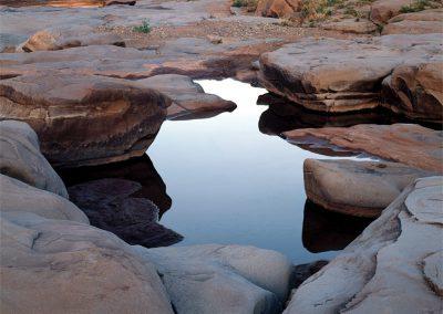 Still Pool, Catfish Falls, Rio Pecos, New Mexico