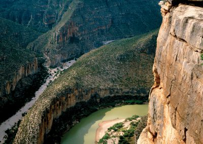 Burro Bluff, Rio Grande Lower Canyons, Texas-Mexico