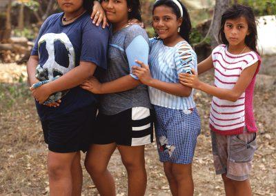 Village Girlfriends, Sierra Madre Occidental, Chiapas, Mexico
