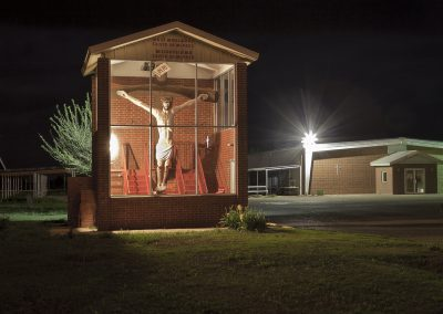 Jesus in a Box – Abernathy, Texas by Ashton Thornhill