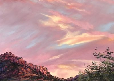 Indian Summer Joy Mountain Sunset by Lindy Cook Severns