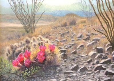 Ocotillo Trail by Shelly Rogers – SOLD