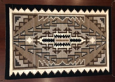 Navajo Rug by Two Grey Hills Weavers – SOLD