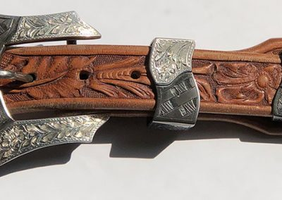 "3-Piece Buckle Set by Frank ""Buddy"" Knight"