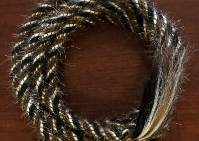 5/8″ Mane Hair Mecate by Douglas Krause