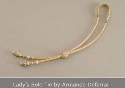 Lady's Bolo Tie by Armando Deferrari