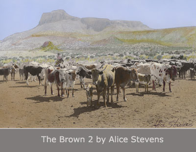 The Brown 2 by Alice Stevens