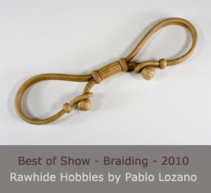 Rawhide Hobbles by Pablo Lozano
