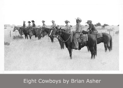 Eight Cowboys by Brian Asher