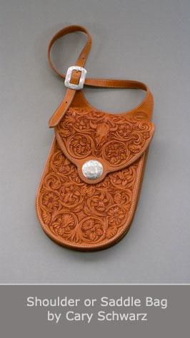Shoulder or Saddle Bag by Cary Schwarz