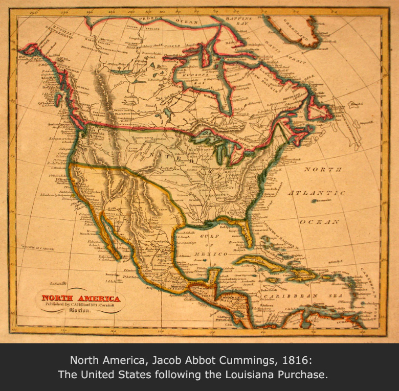 North America, Jacob Abbot Cummings, 1816