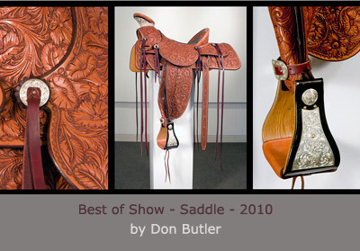 Saddle by Don Butler