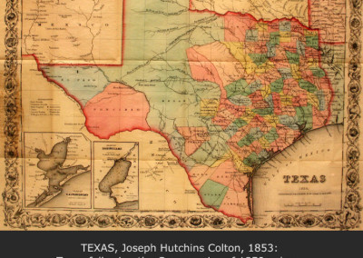 Texas, Joseph Hutchins Colton, 1853
