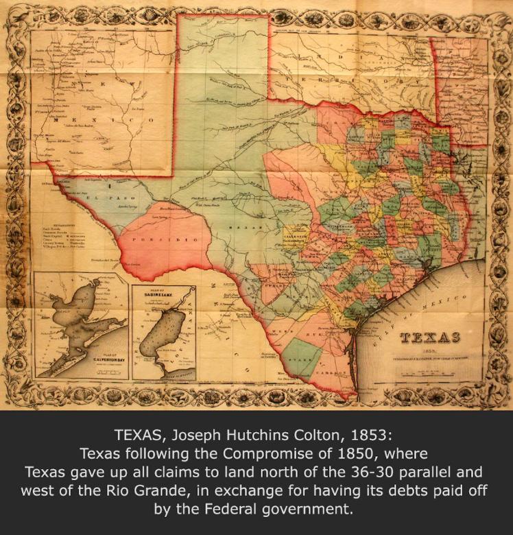 Mexico and Texas, John Milton Niles, 1837