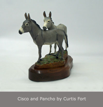 Cisco and Pancho by Curtis Fort