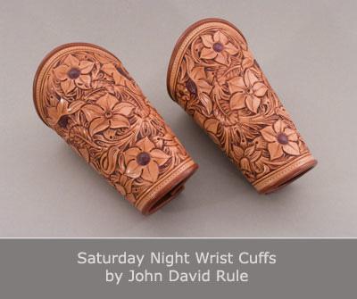 Saturday Night Wrist Cuffs by John David Rule
