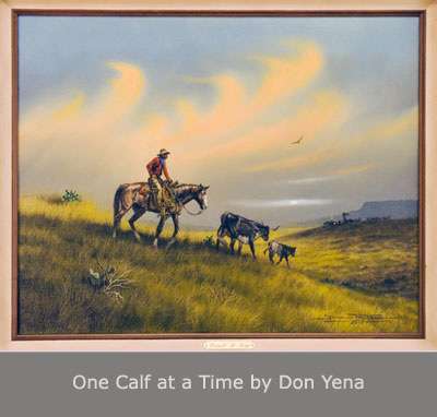 One Calf at a Time by Don Yena