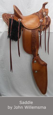 Saddle by John Willemsma
