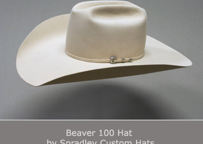 Beaver 100 Hat by Spradley Custom Hats