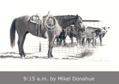 9:15 a.m. by Mikel Donahue