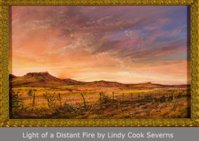 Light of a Distant Fire by Lindy Cook Severns