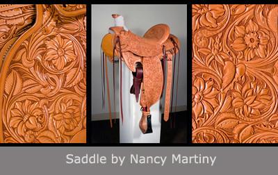Saddle by Nancy Martiny