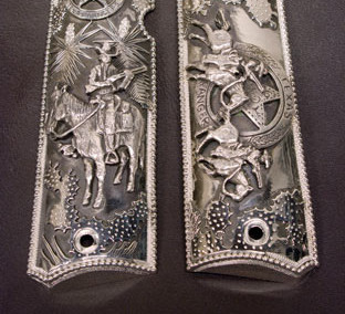 Texas Ranger Series #17 Pistol Grips by Wayne Franklin