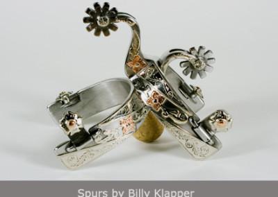 Spurs by Billy Klapper
