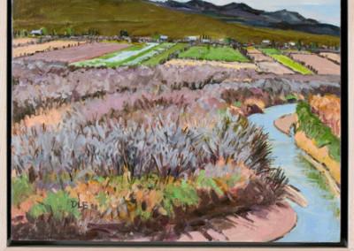 Bosque and Fields by David Loren Bass