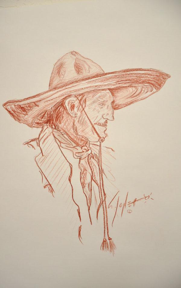 El Charro Veterano by Stephen Jones