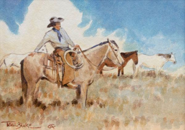 The Horseman by Teal Blake