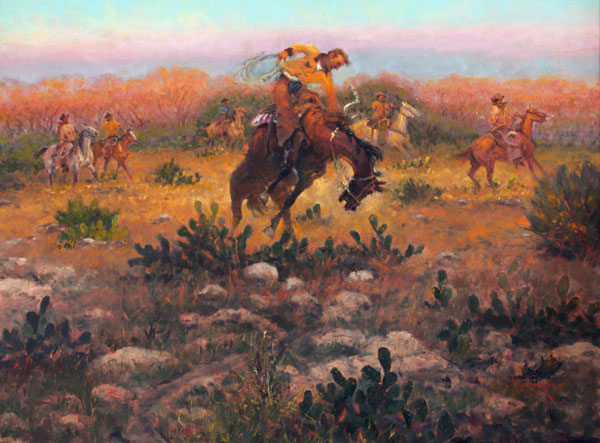Thorns Make Good Riders by Mike Capron