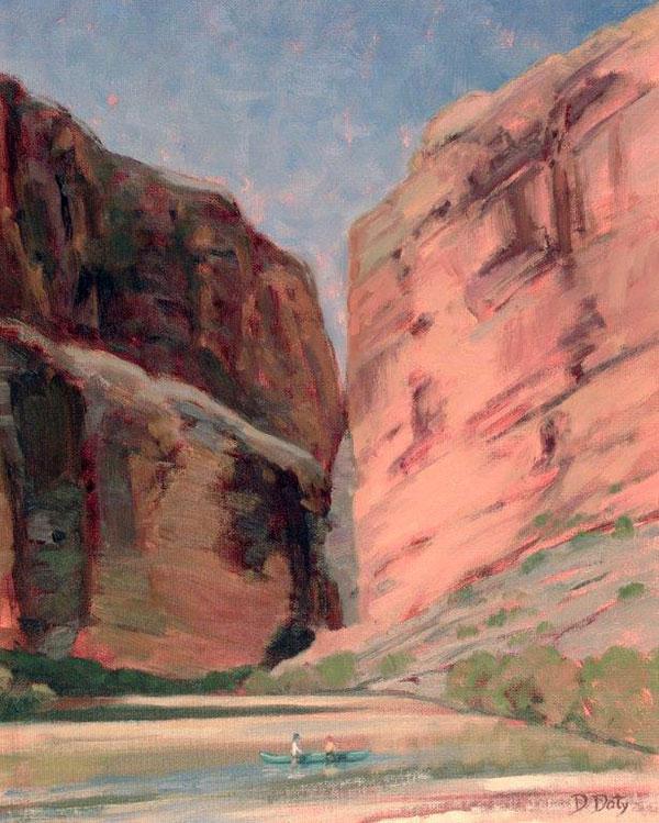 Santa Elena Canyon by Deborah Doty