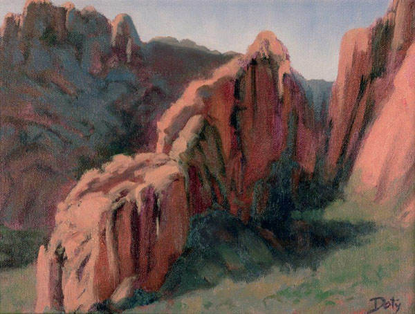 Chisos Basin by Deborah Doty