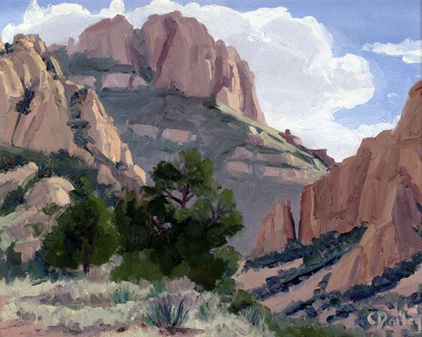 Chisos Basin by Carolyn Dailey
