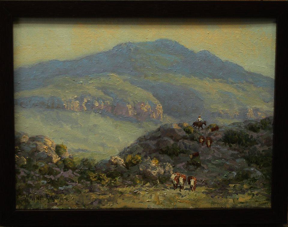 Blue Mountain by Wayne Baize