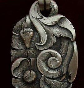 SOLD Sterling Silver Pendant by Javier Ribeyrol