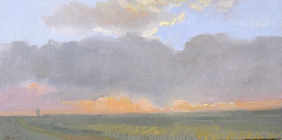 Kansas, Sunrise by Caroline Norton