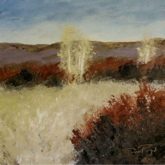 Heber Valley Brush, Utah by Don Prys