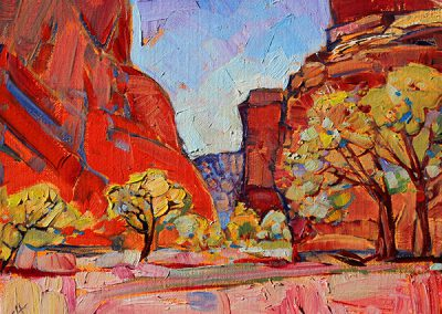 Canyon de Chelly by Erin Hanson