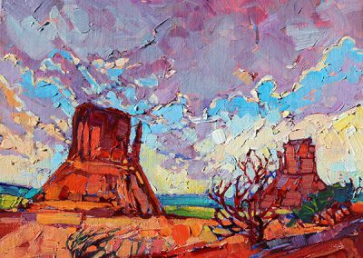 Monument Clouds by Erin Hanson