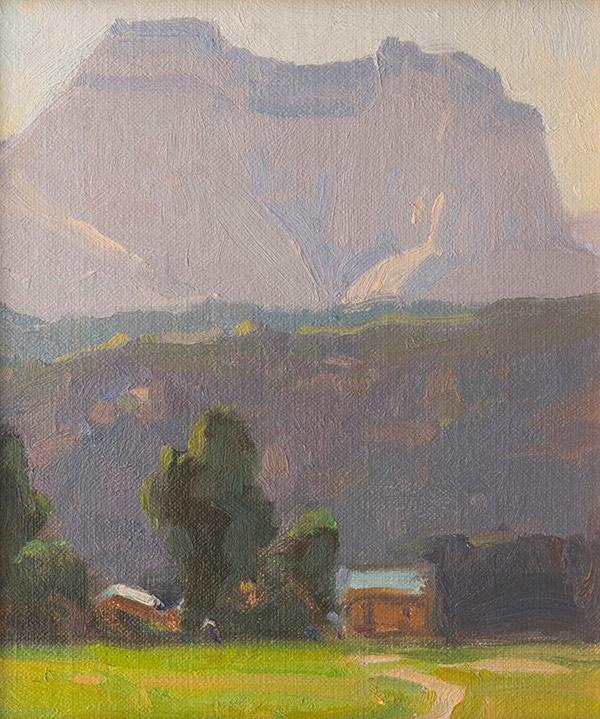 Mount Carmel, Utah by G. Russell Case
