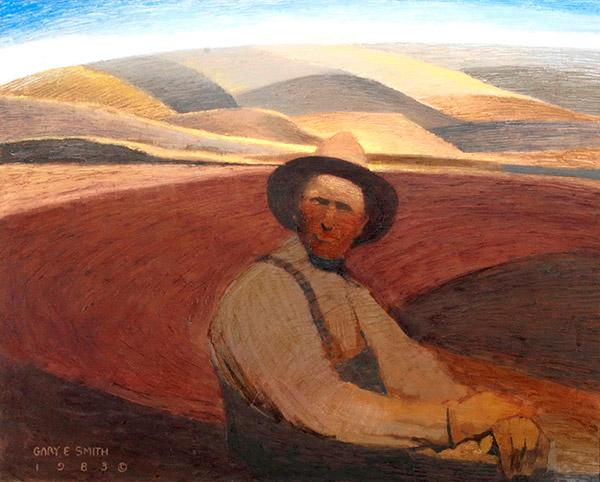 Utah Farmer by Gary Ernest Smith