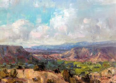 New Mexico Vista by Julie Ford Oliver
