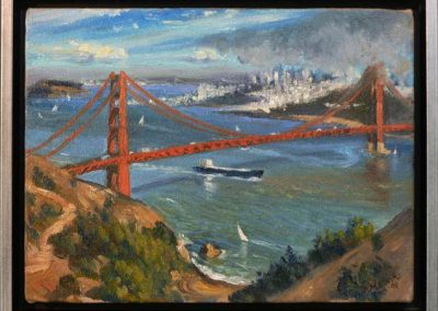 Golden Gate Bridge by Patricia Melvin